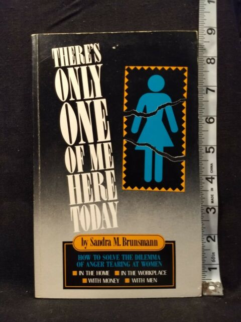 There's Only One of Me Here Today by Sandra M. Brunsmann (1992, Hardcover)