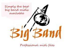 Details about Big Band Midi Files (Pro Collection) Tyros, Yamaha, Korg,  Roland