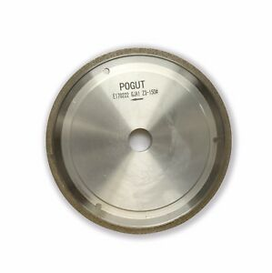 PE Shape Edge Glass Diamond Grinding Polish Wheel 150*22*3,4,5,6<wbr/>,8,10mm