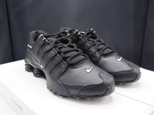 766107bd970 Nike Shox NZ EU Men s Size 10 Running Training Shoes Black white 501524 091