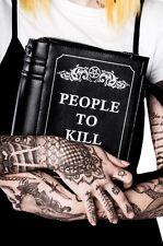Killstar Kill List Book Handbag Handtasche Tasche gothic dark Tragetasche Schult