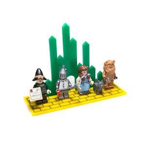 Acryl-Display-Staender-fuer-Der-Zauberer-von-Oz-LEGO-Minifiguren