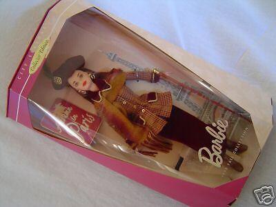 Colector de temporadas 1998 Colección Otoño de ciudad Otoño Muñeca Barbie En París Francia