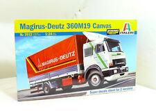 Deutz 360M19 Canvas Truck LKW 1:24 Model Kit Bausatz Italeri 3912 Magirus