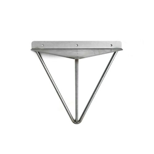 Ensemble de 2 industriel Mid Century Modern étagères Shelf Brackets-Prism