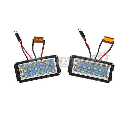 Fiat 500 500C LED Number License Plate Lights Bulbs