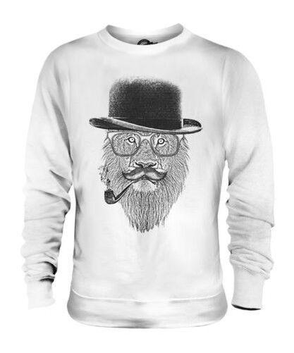 Lion en Déguisement Imprimé Mode Unisexe Pull Drôle Hipster Swag Trendy
