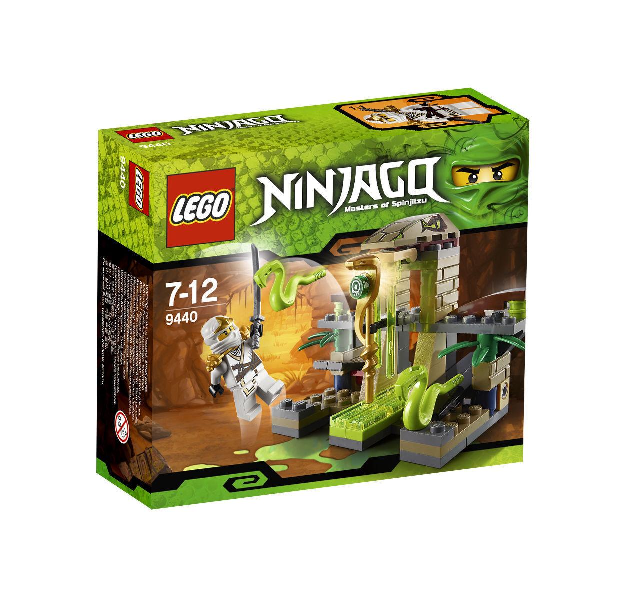 Lego Ninjago sanctuaire des giftnattern (9440)