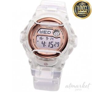 NEW-CASIO-Watch-BABY-G-BG-169G-7B-Clear-color-Women-039-s-in-Box-genuine-from-JAPAN