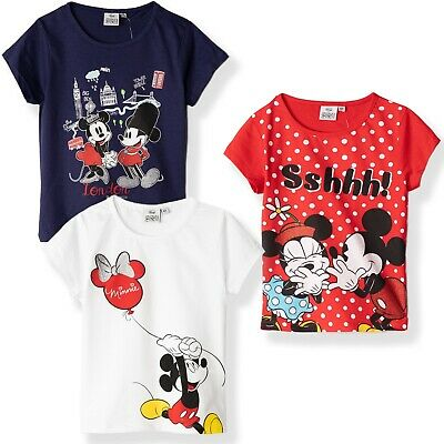 Disney Mickey Mouse Boys Vintage Style T-Shirt Short Sleeve Tops T-Shirts Size 3-8 Years 100/% Cotton