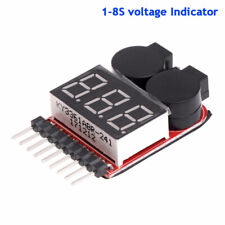 RC Lipo Batterie-Unterspannungswarnung 1S-8S Summer Indicator Checker Tester LED