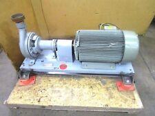 Item 1 Worthington D814 3 X 2 Npt 30hp Centrifugal Pump 230 460v 3ph 8 Impeller