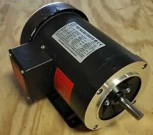 NEW IN BOX WORLDWIDE ELECTRIC 1HP 1725 RPM 56C FRAME MOTOR AT1-18-56CB