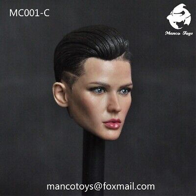 "1//6 Head Sculpt Carved MC001-C Bodyguard Ruby Rose F 12/"" Female Figure Model Toy"