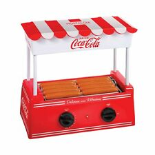 Nostalgia Coca Cola Hot Dog Warmer 8 Regular Sized 4 Foot Long Amp 6 Bun Capacity