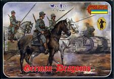 Strelets Models 1/72 WORLD WAR I GERMAN MOUNTED DRAGOONS Figure Set