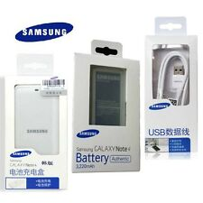 Original SAMSUNG Galaxy Note4 IV SM-N910 3220mAh Battery & Charger & Cable Kit