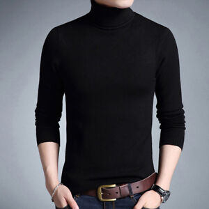 bb3afd2f1a1e Winter Warm Sweater Men Turtleneck Brand Mens Sweaters Pullover Men ...