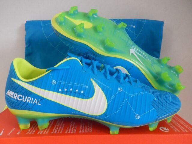 sports shoes a430c b9aa3 Nike Mercurial Vapor XI Neymar FG 921547-400 Blue Orbit Soccer Cleats DS 11