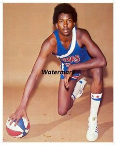 1970-039-s-ABA-Utah-Stars-Moses-Malone-Color-8-X-10-Photo-Picture-Free-Shipping