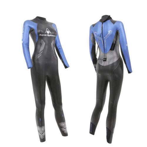 Aqua Sphere 2018 RACER Ladies Womens Wetsuit Triathlon Open Water Swimming
