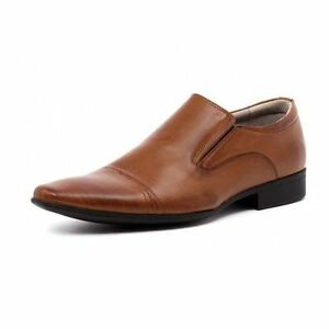 MENS-JULIUS-MARLOW-JM33-JM-CORY-33-CORY-TAN-FORMAL-CASUAL-SLIP-ON-DRESS-SHOES