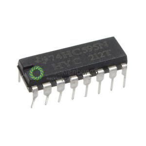 10-20-50-100PCS-NEW-SN74HC595N-74HC595-8-Bit-Shift-Register-DIP-16-IC