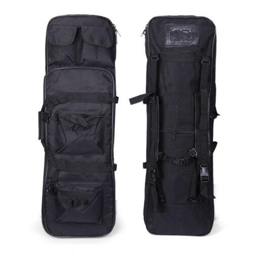 "39/"" Tactical Padded Fishing Rod Shoulder Gun Carbine Rifle Weapons Case Bag"
