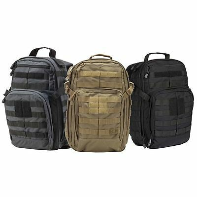 5.11 Tactical Rush 12 Backpack Choice of Colors #56892