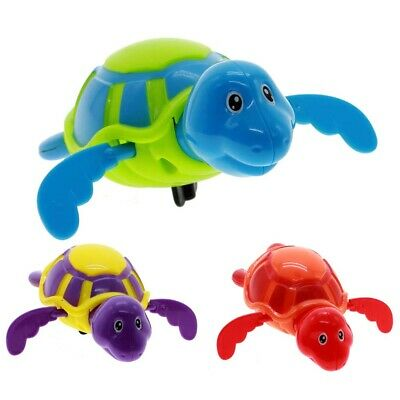 Cute Swimming Turtle Baby Kids Shower Bathing Dabbling Clockwork Funny Toy Gift