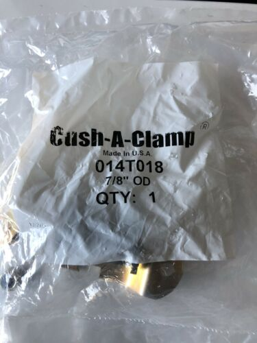 """Cush-A-Clamp 014T018 7//8"""" OD Channel Mounting System NEW SEALED Lot Of 5"""