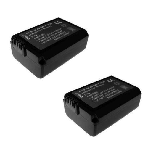 2x batería para Sony Alpha slt-a35y slt-a37 slt-a55 slt-a55v