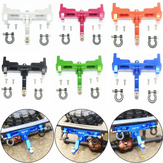 RC Blue Aluminum Rear Chassis /& Bracket Links AXIAL 4WD 1:10 SCX10 Upgrade Parts