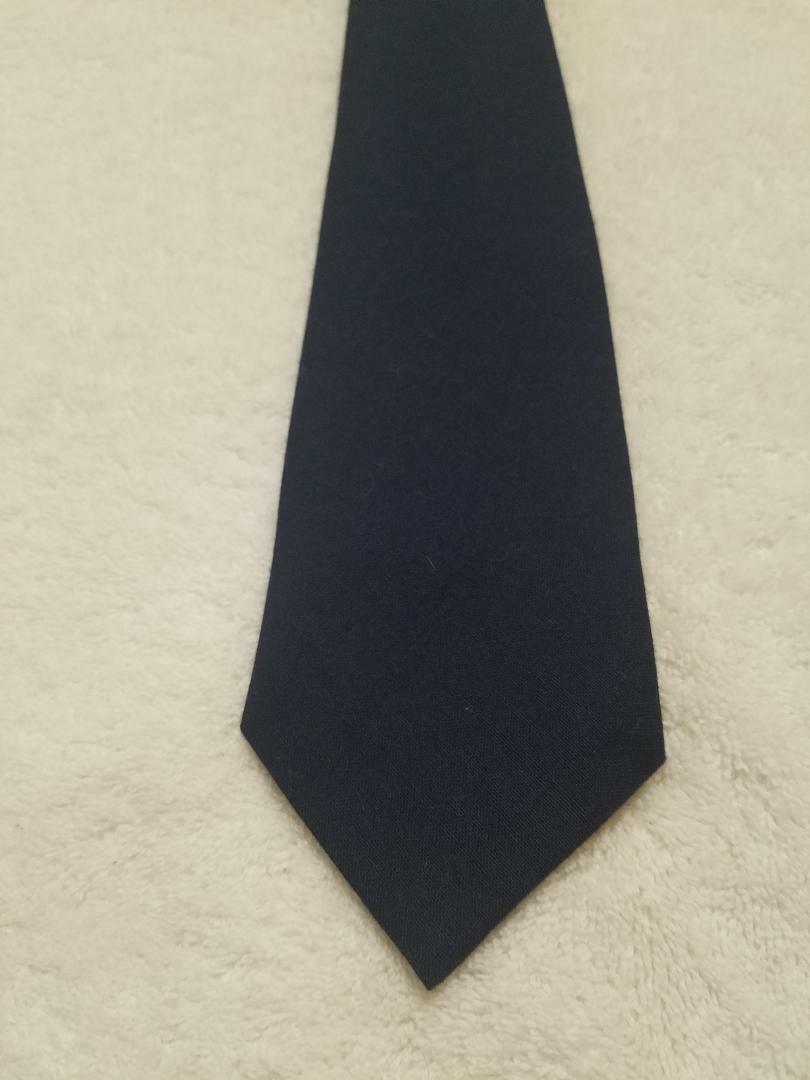 Navy Blue Uniform Necktie or Men's