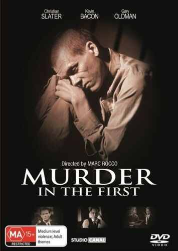 1 of 1 - Murder in the First (DVD, 2013) Region 4 (VG Condition)