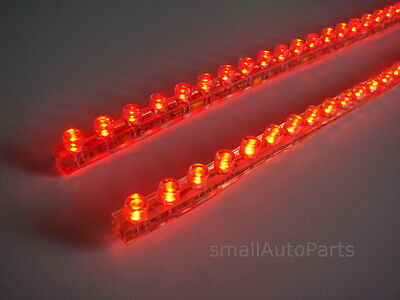 "24/"" BLUE LED STRIP Flexible 18 SMD Light bulb 12V for Motorcycle//Chopper//Scooter"