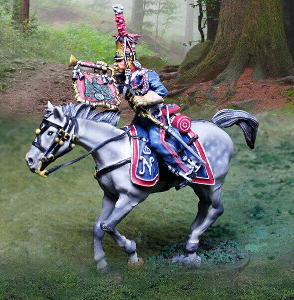 The Collectors Showcase Napoleonisch French CS01033 Politur Lancer Trompeter MIB