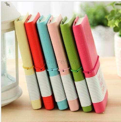 NEW MINI SMILEY Diary Cute Planner Notebook Nice Journal Memo Gift Candy Color