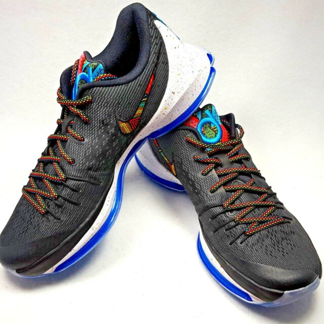 the best attitude a1fd6 9ce10 New Nike KD 8 BHM Black History Month Men Size 10 black Multi Colors Shoes
