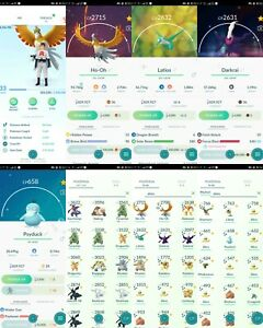 pokemon-account-Go-Level-33-38-Shiny-89-Legendary-81-IV100-RARE