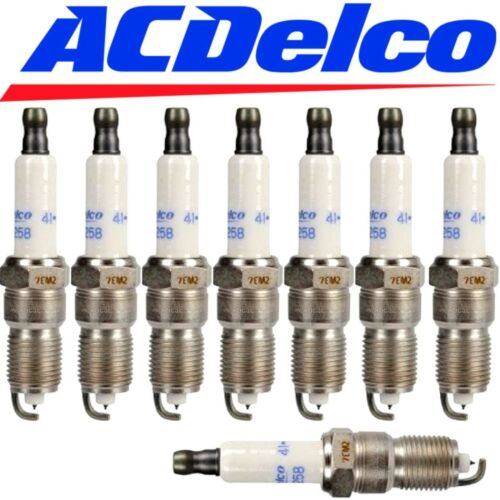 8 OEM GMC IRIDIUM SPARK PLUGS FOR GMC C1500 SUBURBAN 1996-1999 ACDELCO 41-993