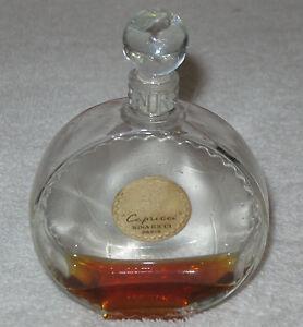 "Vintage Nina Ricci Lalique Perfume Bottle - Capricci - 4"" Height - 1940's"