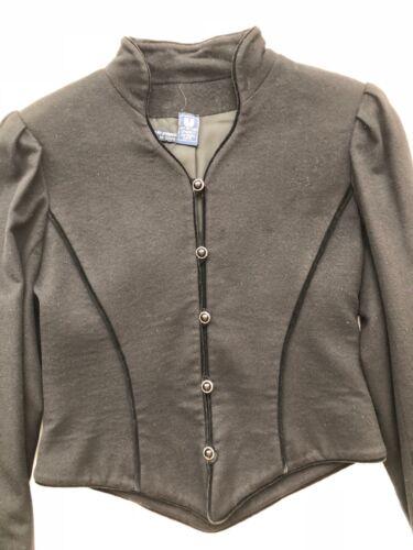 Velvet Emanuel Style Jacket 2 4 Ungaro Black Vintage S Medieval wqgBH