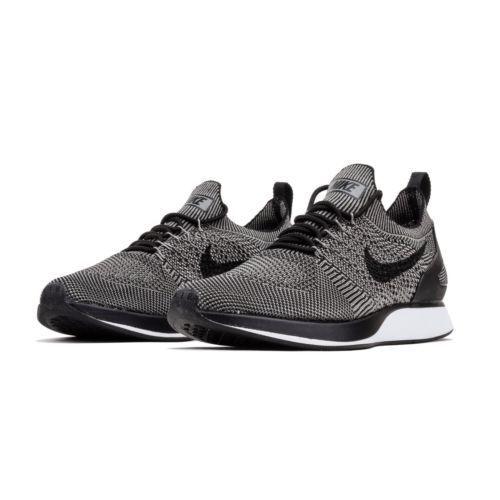 Los hombres de Nike Air Lite Zoom Mariah Flyknit Racer corriendo Lite Air Charcoal / Negro 918264 008 34e7cd