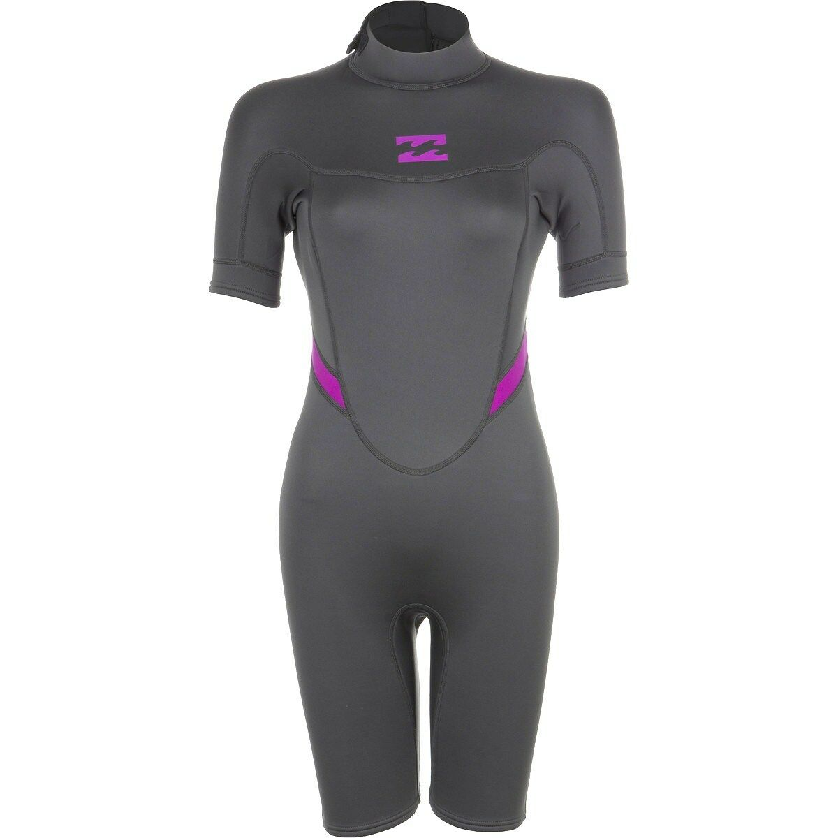 BILLABONG Women's 2mm SYNERGY BZ S S Spring Suit - OFB - Size 10 - NWT