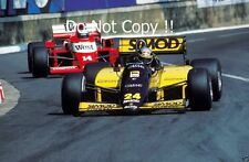 Alessandro Nannini Minardi M185B Monaco Grand Prix 1986 Photograph 1