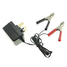 500mA 0.5A Silverline Trickle Charger for 12V SLA Sealed Lead-Acid Batteries