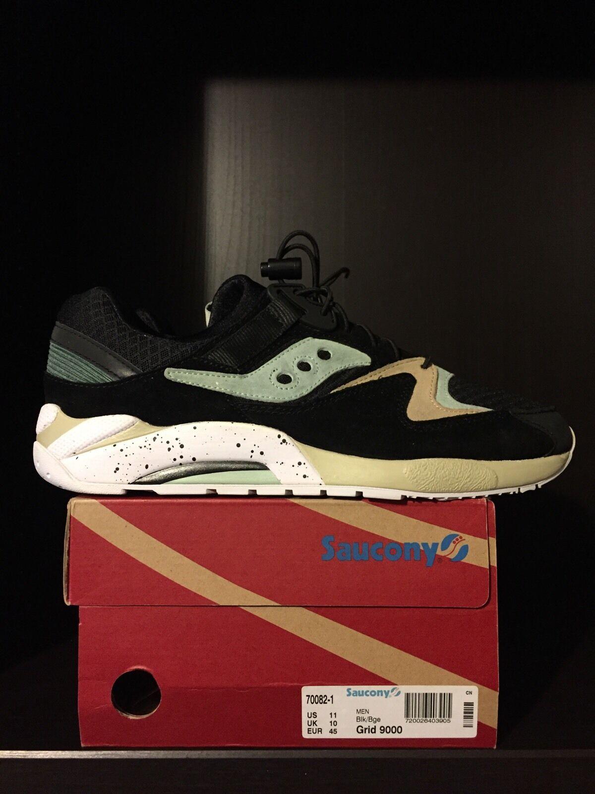 2012 Sneaker Freaker x Saucony Grid 9000  Bushwacker  - Size 11 - RARE