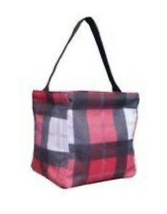 e7eb853eaca2 Details about NIP New Thirty One 31 Littles Carry All Caddy Check Mate  Black Red White