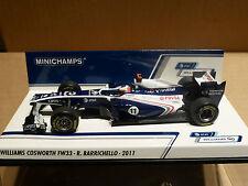 Minichamps 1:43 Rubens Barrichello Williams Cosworth FW33 F1 2011 race car